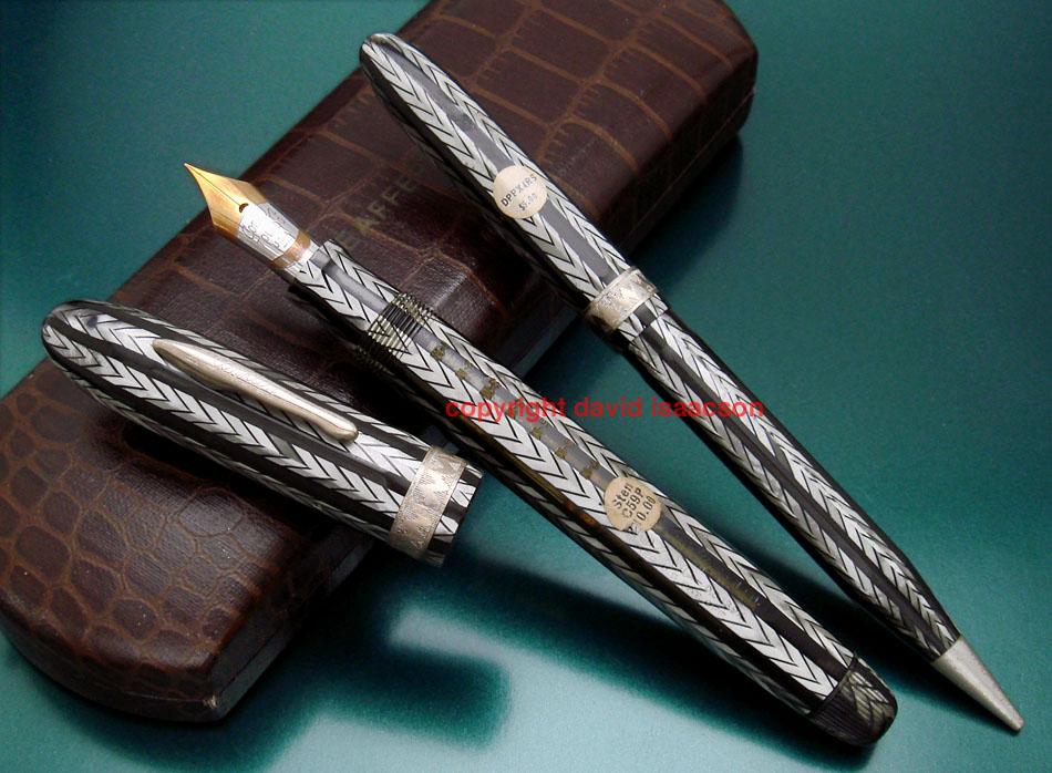 conklin_nozac_herringbone_mint_silver950