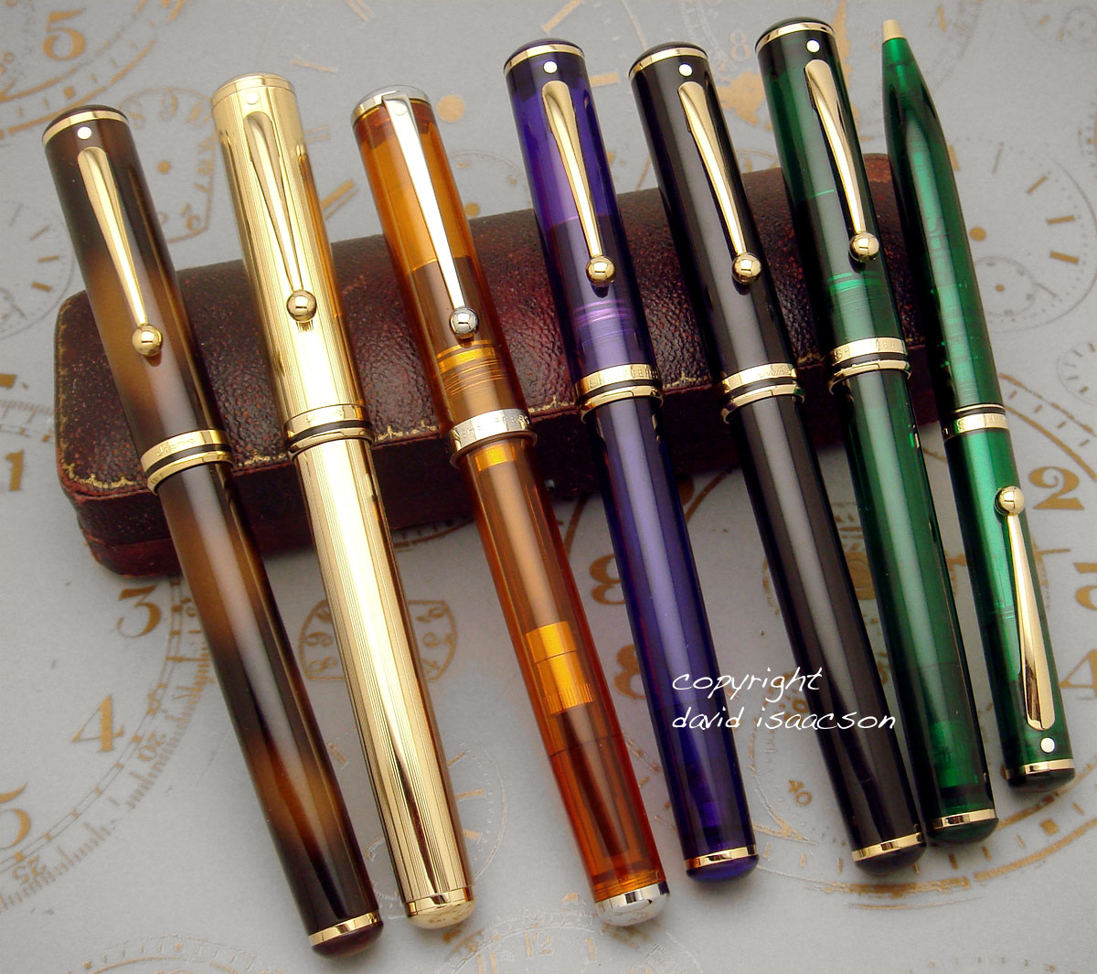 Forsalesheafferlatehtm Pen Each Includes 1 Ball Point And Fountain As The Diagram Click For Larger Pic